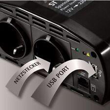 AEG st800 transformador de tensión 12v a 230v coche converti Caravan transformador de intensidad 800w