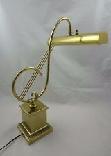 Vintage Laurel Lamp Mfr Co. Treble Clef Lamp w/ Weighted Base ~  Table Lamp