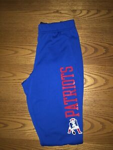 NIKE NEW ENGLAND PATRIOTS NFL TEAM APPAREL MENS THROWBACK JOGGER PANTS LARGE