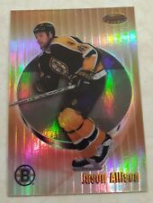 1998-99 Bowman's Best REFRACTOR 105/400 Jason Allison Card 51 Great Set