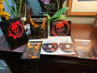 Gears of War Limited Collector's Edition Xbox 360 Tin boxSET 2 Disc Pristine