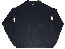 H & M toller Strick Pullover Gr. 152 / 158 oder XS schwarz !!