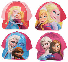 Girls D10107/D10110/D10113 Frozen baseball cap in 3 colours By Disney