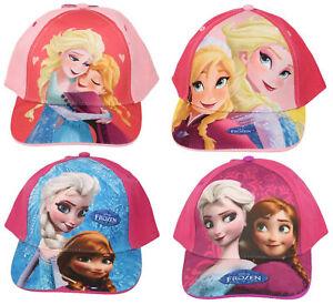 Girls D10107/D10110/D10113 Frozen baseball cap in 3 colours By Disney £4.99