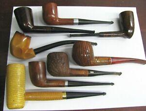 Vintage Smoking Tobacco Pipe Estate Lot Meerschaum, Weber, Medico, Esquire Etc.