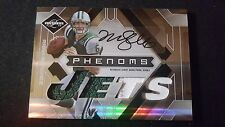 09 Leaf Limited Phenoms Mark Sanchez Rc Auto Quad Game Used Jersey Jets #19/149