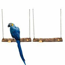 Outdoor Indoor Natural Handmade Bird Swing Hanging Perch Parrot Toys Hammock