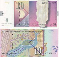 MACEDONIA 10 DINARI 2005 FDS UNC