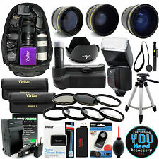 Canon Rebel T5 T3 Digital SLR Camera Everything You Need Accessory Kit 2