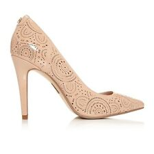 Moda In Pelle CAIELLA Court Shoes- Nude Patent UK 4 EU 37 JS34 73