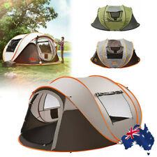 Waterproof 5-8 Person Automatic Instant Open Shade Camping Family Tent Hiking