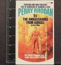 Perry Rhodan #64 The Ambassadors from Aurigel Kurt Mahr 1975 Sci-Fi Colonists #4