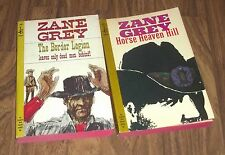 ZANE GREY HORSE HEAVEN HILL, THE BORDER LEGION POCKET PAPERBACKS