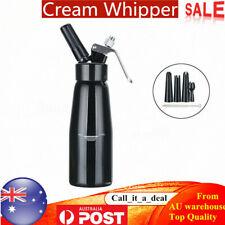 500ml Cream Whipped Foamer Foam Dispenser Dessert Coffee Butter Whipper Maker AU