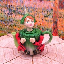 Miniature Fairy Garden Bok Choy Pixie Teapot - Buy 3 Save $5