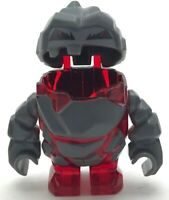 LEGO NEW ROCK MONSTER MELTROX TRANS-RED MINIFIGURE