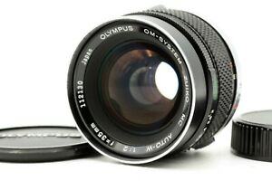【N.MINT+】 Olympus OM-System Zuiko MC Auto-W 35mm f/2 Wide Lens OM SLR From JAPAN