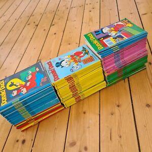 73 x Donald Duck Comic Sammlung Konvolut Hefte 5.5 kg untersch. Zustände Disney