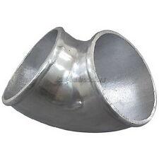 "4"" Cast Aluminum 90 Degree Elbow Pipe Turbo Intercooler Polished"