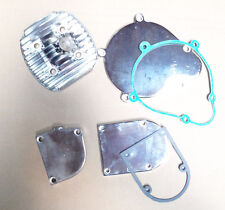 66 / 80cc engine motor parts -  chrome covers (head, clutch cover, mag cover, dr