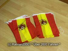 Fahnen Flagge Flaggenkette Spanien 6 Meter Lang