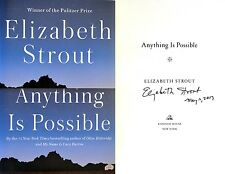 Elizabeth Strout~SIGNED & DATED IN PERSON~Anything is Possible~1st/1st + PHOTOS!
