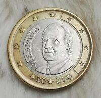 ____1 Euro Münze____ ~~~fehlprägung~~~   Spanien 2001