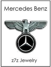 MERCEDES BENZ Lapel Pin - logo auto emblem w/ german roman eagle tie tack z7qq