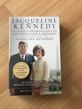 Jacqueline Kennedy Conversations on Life with John F. Kennedy Book + 8 CD's