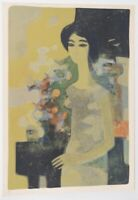 Andre Minaux Mid Century Color Lithograph C.1970