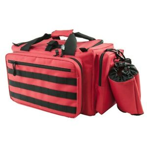 NCStar CVCRB2950G Tactical Competition Pistol Range Carry Case Bag - Red /Black