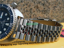 22mm Solid Stainless Steel Jubilee Type Replacement Bracelet For SRP773 SKX007