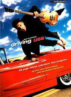 PAUL McCARTNEY 2002 DRIVING USA TOUR CONCERT PROGRAM BOOK BOOKLET / EX 2 NMT