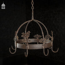 More details for 18th c blacksmith made wrought iron game hanger hooks