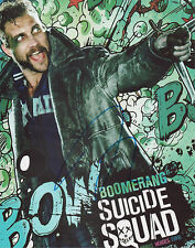 JAI COURTNEY Signed 10x8 Photo BOOMERANG In THE SUICIDE SQUAD COA