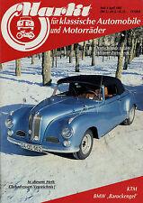 0060OM Oldtimer Markt 1985 4/85 AJW BMW 501 502 DKW 3=6 KTM Pony Tarzan Knight