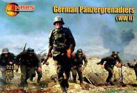 Mars Figures 72108 - 1/72 German Panzergrenadiers (WWII) scale plastic model kit