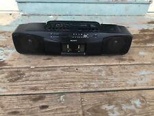 Sony Cfs-W304 Radio Cassette Boombox Dubbing Recorder Tape Vintage