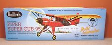 GUILLOWS PIPER SUPER CUB 95 BALSA MODEL KIT # 602