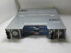 """DELL COMPELLENT SC200 E04J001 3.5"""" STORAGE ARRAY W/ 2x 0TW47 CONTROLLERS T8-E5"""