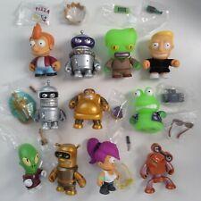 "Kidrobot Futurama 3"" VINYL FIGURES Bender Slurms Calculon Hedonismbot UNIVERSE X"