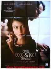 COCO & IGOR Affiche Cinéma / Movie Poster Mads Mikkelsen CHANEL