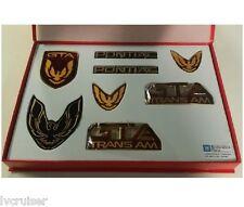 Trans Am GTA Emblem Kit - FLAME RED - 8 Piece Kit for 87-90 Firebird TA GTA