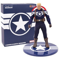DCL12264: Mezco Captain America Commander Rogers One:12 Collective Figure