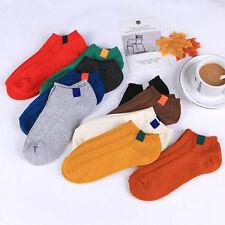 New Unisex Sport Socks Men Women Multi-Color Crew Ankle Socks Low Cut 9 Colors