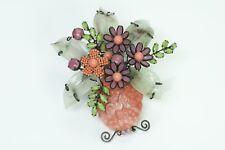 Lawrence Vrba Large Flower Brooch