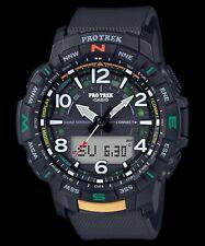 Casio Pro Trek Quad Sensor Bluetooth Connected Black Resin Watch - PRT-B50-1