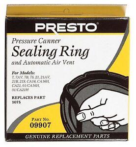 Presto Pressure Cooker Sealing Ring 9907 NEW!