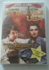 Secret File U.S.A.-TV Classics (4-Episode Fullscreen DVD) Robert Alda, Alan Alda