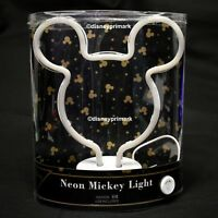 DISNEY MICKEY MOUSE NEON LED LIGHT LAMP BEDSIDE TABLE LAMP PRIMARK XMAS MINNIE
